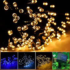 Solar Powered Patio Lights String by Review Inst Solar Powered Led String Light Ambiance Lighting