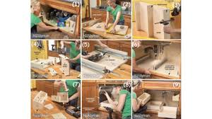 diy storage ideas how to build kitchen storage under the sink