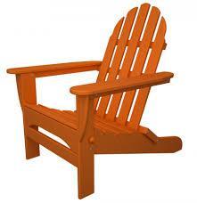 Outdoor Adirondack Chairs Polywood Classic Folding Adirondack Chair