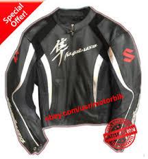 motorcycle racing jacket suzuki hayabusa leather motorcycle racing jacket ebay