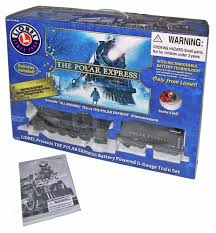new lionel polar express battery powered train set g scale 1225