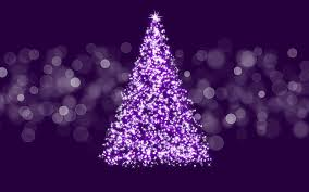 purple christmas tree pink and purple christmas tree baubles decorations ideas wallpaper