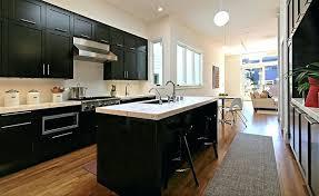 black cabinets white countertops dark cabinets white countertop full size of kitchen black and white