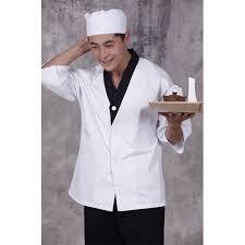 blouse cuisine japanese cuisine serving sushi shop waiter workwear restaurant