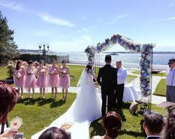 wedding ceremony arch wedding arch etsy