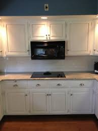 White Distressed Kitchen Cabinets by Cabinets U0026 Drawer Black Bronze Handle And Stainless Steel