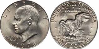 1978 dime error 1978 d eisenhower dollar values facts