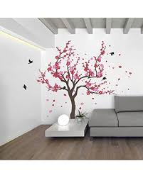 Nursery Room Tree Wall Decals Shopping Special Japanese Cherry Blossom Tree And Birds