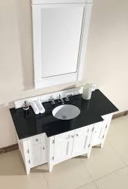 Bathroom Vanity Granite Top by North Hampton 53 Inch Pure White Bathroom Vanity Granite Top
