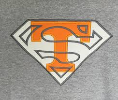 Tennessee Vols Home Decor Vols Tshirt Tn Vols Superman Shirt Football Shirt