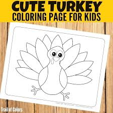 thanksgiving turkey coloring pages free for preschool page unique