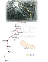 Porter Airlines Route Map by Everest Base Camp And Lobuche East 20 Days Ace The Himalaya