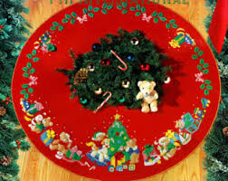 felt tree skirt etsy