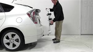 toyota prius bike rack review of the kuat alpha hitch bike rack on a 2012 toyota prius