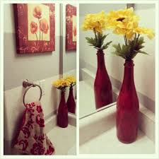 Grey And Yellow Bathroom by Bathroom Beautiful Red Bathroom Accessories With Decorative Red