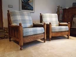 sofa settee 3 piece oak arts and crafts gothic c1920 510615