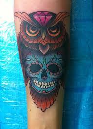 sugar skull forearm sleeve binge thinking