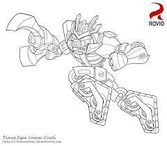 angry birds transformers megatron liseth deviantart