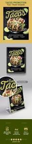 tacos flyer poster template flyer template restaurant menu