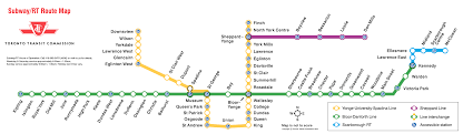 Ttc Subway Map Ttc Other Items Catch All Page 86 Urbantoronto