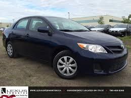 lexus corolla pre owned blue 2013 toyota corolla auto ce walk around review