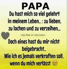 trauersprüche papa papa trauersprüche grief