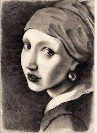 vermeer earring vermeer girl with a pearl earring by simobi on deviantart
