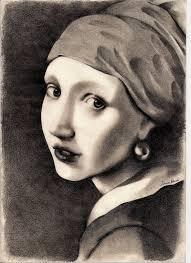 vermeer pearl earring vermeer girl with a pearl earring by simobi on deviantart