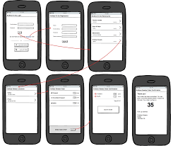 designing the restaurant app ui mockups backend as a service idolza