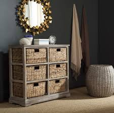 Wicker Storage Chest Of Drawers Amh5740e Storage Furniture Furniture By Safavieh