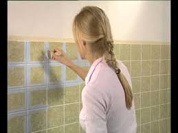 Backsplash Tile Paint by Jaeger Paint Over Tiles Youtube