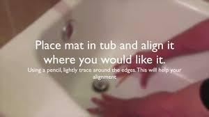 Gator Grip Bath Mat Safety Bath Mat Youtube