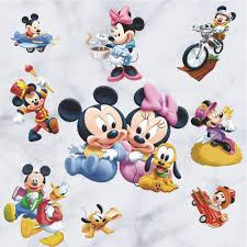 diy minnie mouse bedroom decorations creative cute kids bedroom wall decor minnie mouse stickers removable diy baby decals home