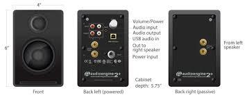 a2 powered speakers audioengine