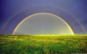 do rainbows prove flat earth dome firmament original version