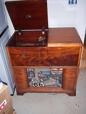 Philco Record Player Cabinet Console Record Player Ebay