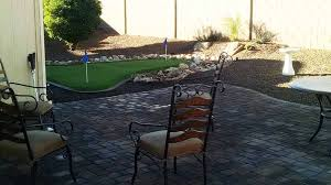 Small Backyard Putting Green Backyard Landscaping Putting Green Az Living Landscape