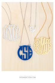 monogram necklaces best 25 monogram necklace silver ideas on monogram