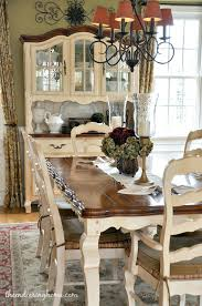 french country side table french country dining table and chairs dining room updates french