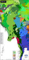 Map Burma Myanmar Carte Linguistique Linguistic Map