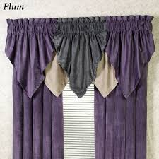 Purple Home Decorations by Decorating Appealing Purple Valance For Unique Interior Home