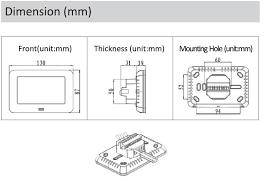 underfloor heating mat 200w including istat thermostat