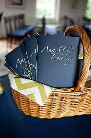 Basket For Wedding Programs Best 25 Diy Wedding Programs Ideas On Pinterest Wedding Seating