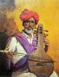 rajasthani musician paper poster musicians in art pinterest