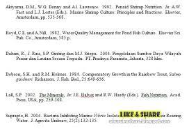 panduan penulisan daftar pustaka dari jurnal cara membuat daftar pustaka laporan pkl cara membuat daftar pustaka