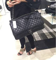 travel chanel images Chanel xxl flap bag from spring summer 2016 act 2 collection png