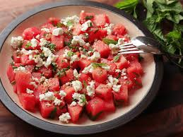 watermelon feta and mint salad recipe serious eats