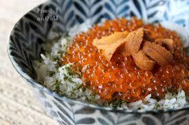 comment cuisiner les oursins donburi de luxe 1 oeufs de truite et corail d oursin piment oiseau