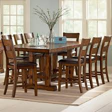 Vendor  Zappa  Piece Counter Height Table  Chair Set - Bar height dining table with 8 chairs