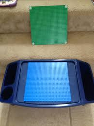 Lego Table With Storage For Older Kids Kids Tray And Lego Base Plates Add Velcro And Voila Cheap U0026 Easy